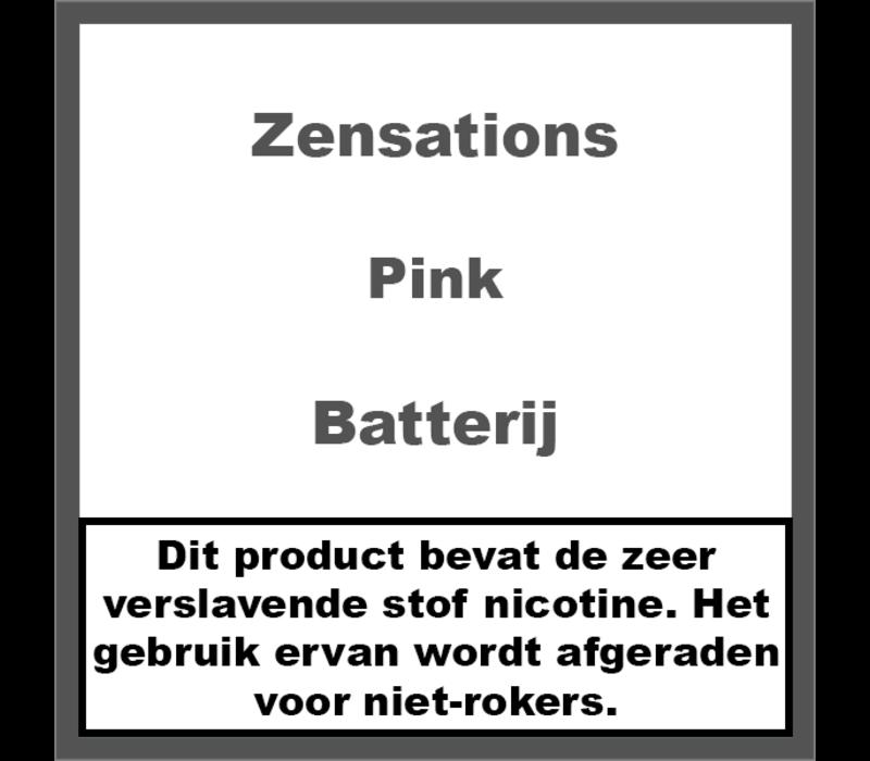 Batterij Roze