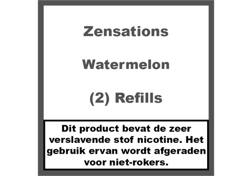 ZenSations Watermelon Refill Cartridge