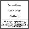 ZenSations Batterij Donkergrijs