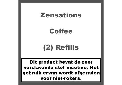 ZenSations Coffee Refill Cartridge