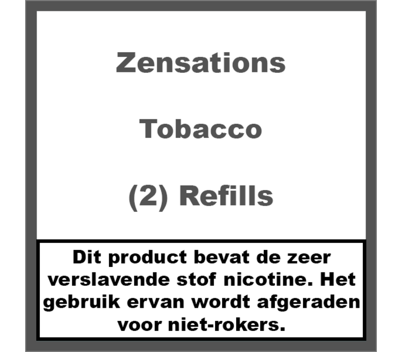 Tobacco Refill Cartridge
