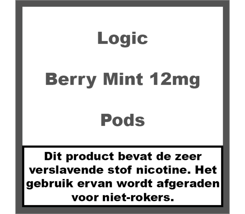 Compact Berry Mint Pods 12mg