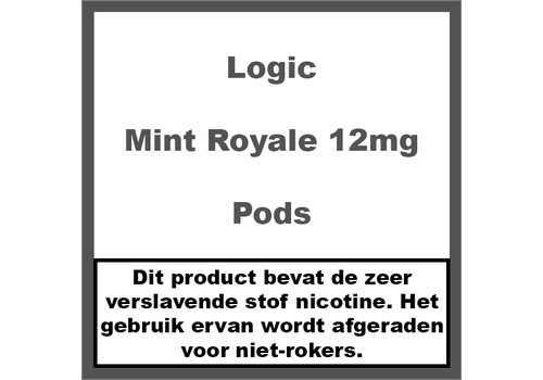 Logic Compact Mint Royale 12Mg