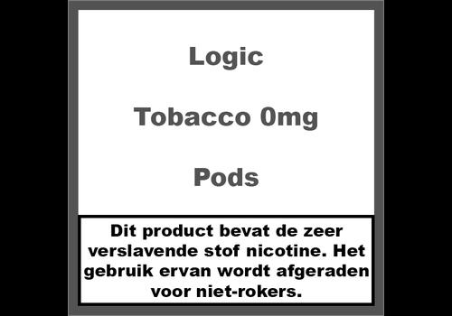 Logic Compact Tobacco Pods 0Mg