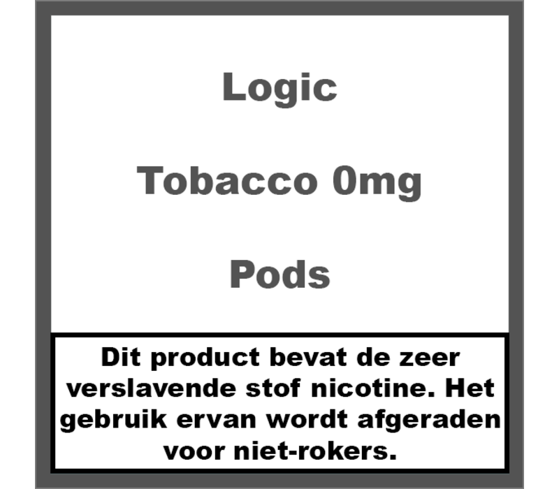 Compact Tobacco Pods 0Mg