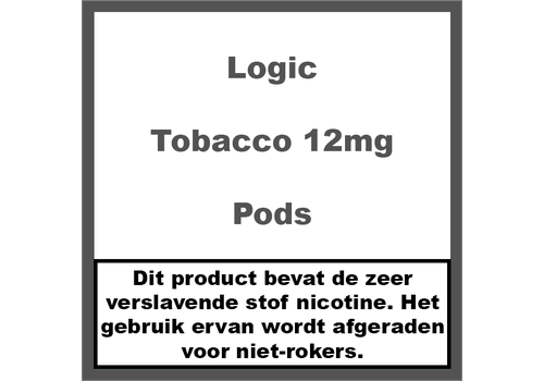 Logic Compact Tobacco Pods 12Mg