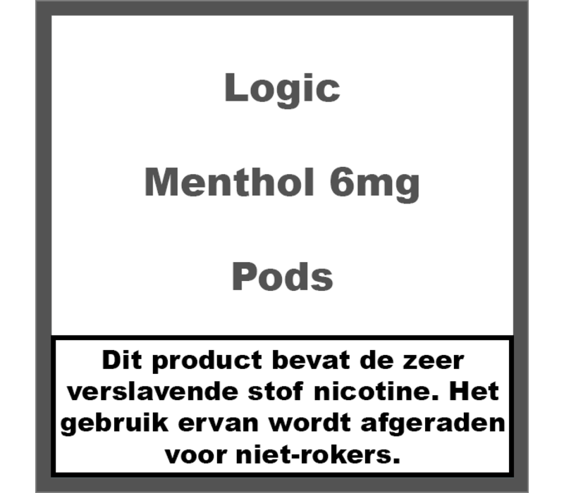 Compact Menthol Pods 6Mg