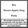 Blu Green Apple Pod 9MG