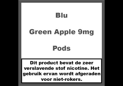 Blu Green Apple Pod 9MG