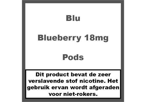 Blu Blueberry Pod 18MG