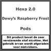Hexa 2.0 Pods Dewy's Raspberry Frost