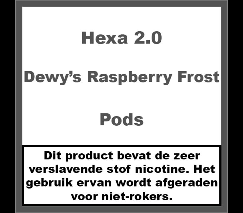 2.0 Pods Dewy's Raspberry Frost