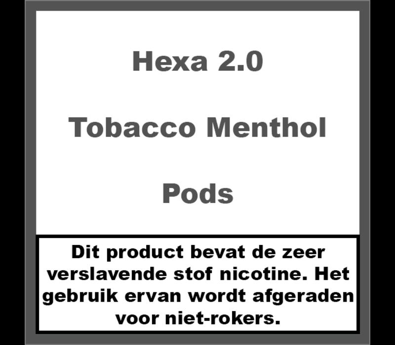 2.0 Pods Tobacco Menthol
