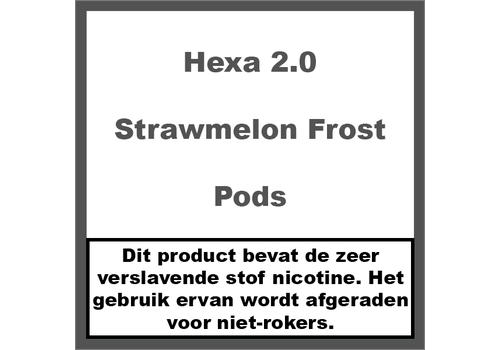 Hexa 2.0 Pods Strawmelon Frost