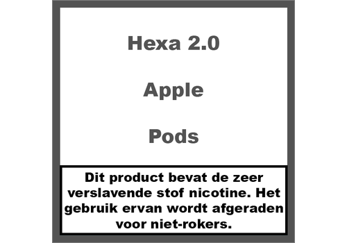 Hexa 2.0 Pods Apple