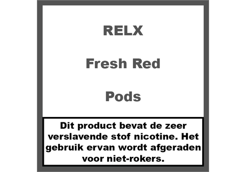 RELX Pods Fresh Red