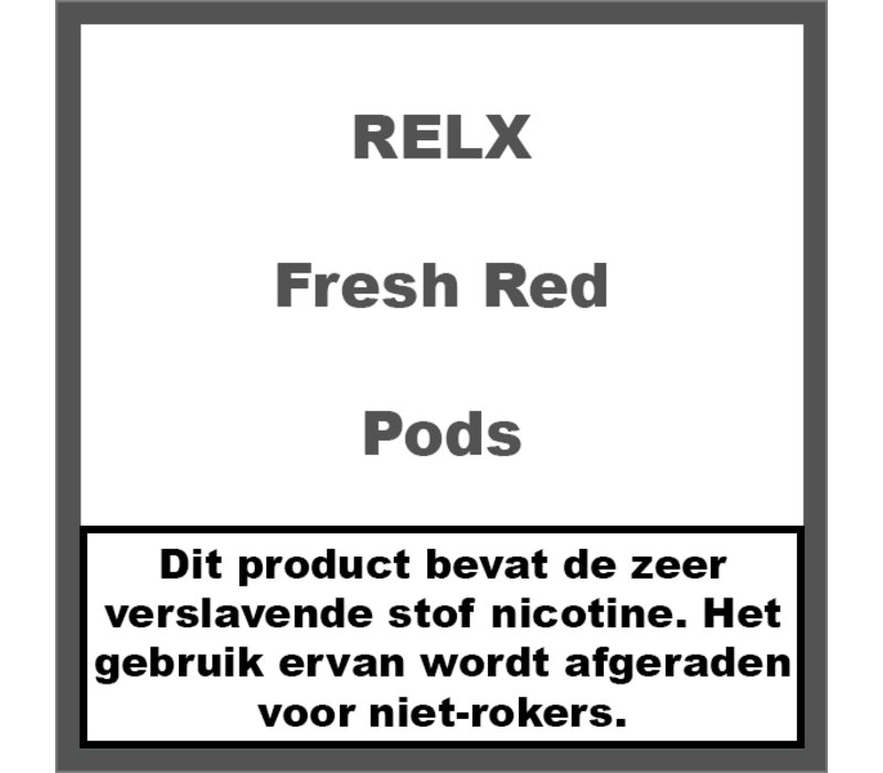 Pods Fresh Red