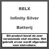 RELX Infinity Batterij Zilver