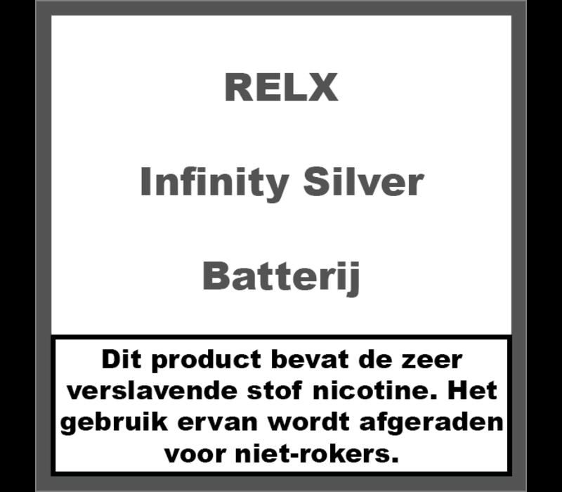 Infinity Batterij Zilver