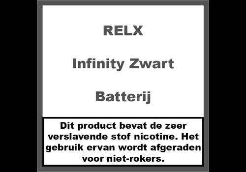 RELX Infinity Batterij Zwart