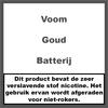 Voom Batterij Gold