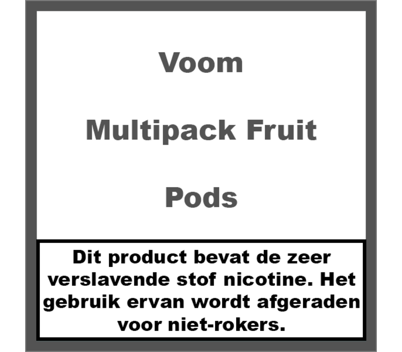 Flavour Multipack Fruit Pods