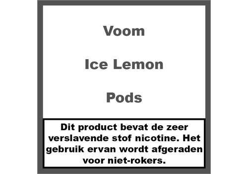 Voom Ice Lemon Pods