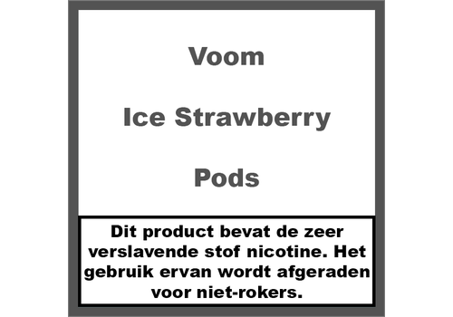 Voom Ice Strawberry Pods