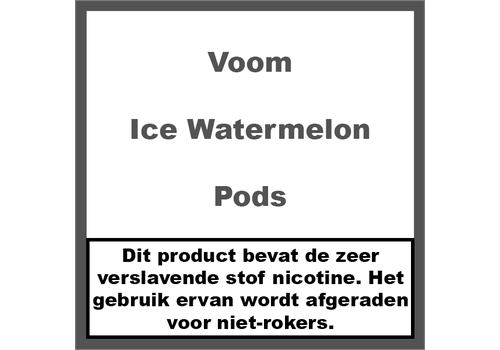 Voom Ice Watermelon Pods