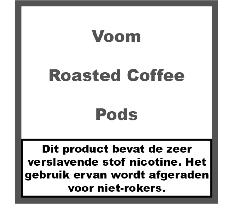 Roasted Coffee Pods