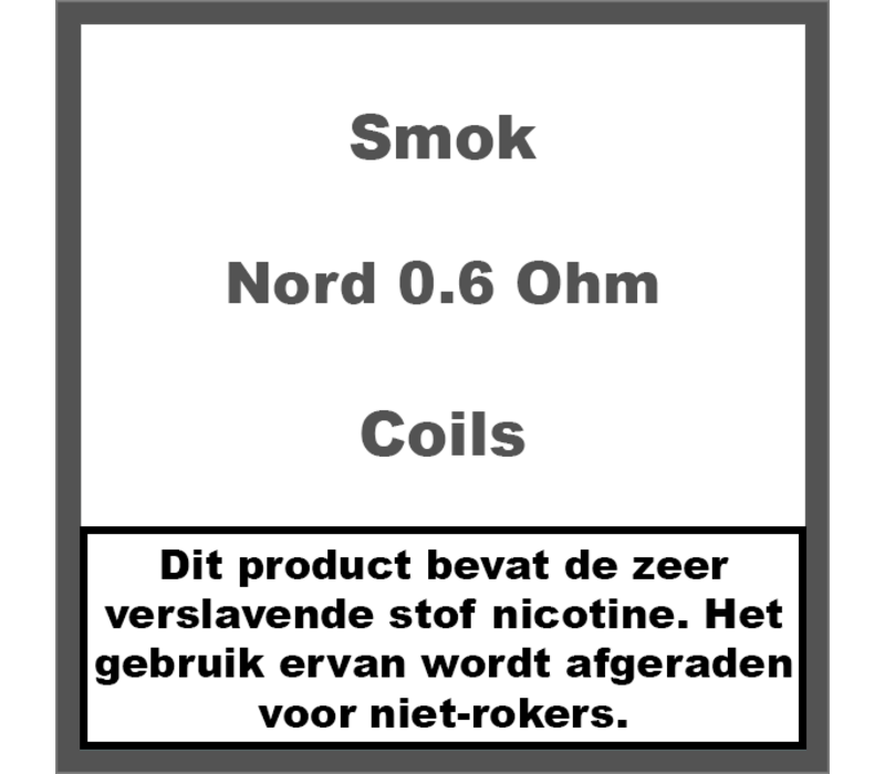 Nord Coils 0.6Ohm