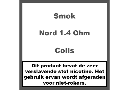 Smok Nord Coils 1.4Ohm