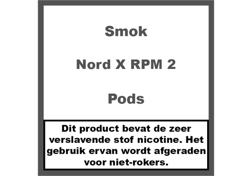 Smok Nord X Pods RPM 2