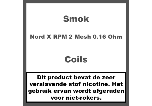 Smok Nord X Coils RPM 2 Mesh 0.16Ω