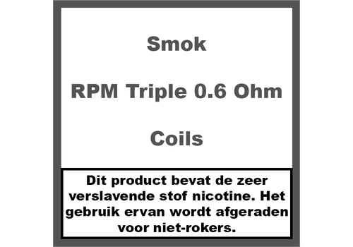 Smok RPM Triple Coils 0,6