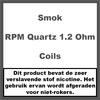 Smok RPM Quartz Coils 1,2