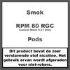 Smok RPM80 RGC Mesh Coils 0,17