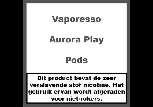 Vaporesso Aurora Play Pod's