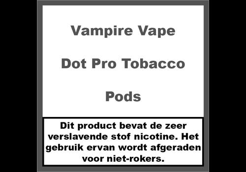 Vampire Vape Dot Pro Tobacco Pods