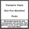 Vampire Vape Dot Pro Menthol Pods