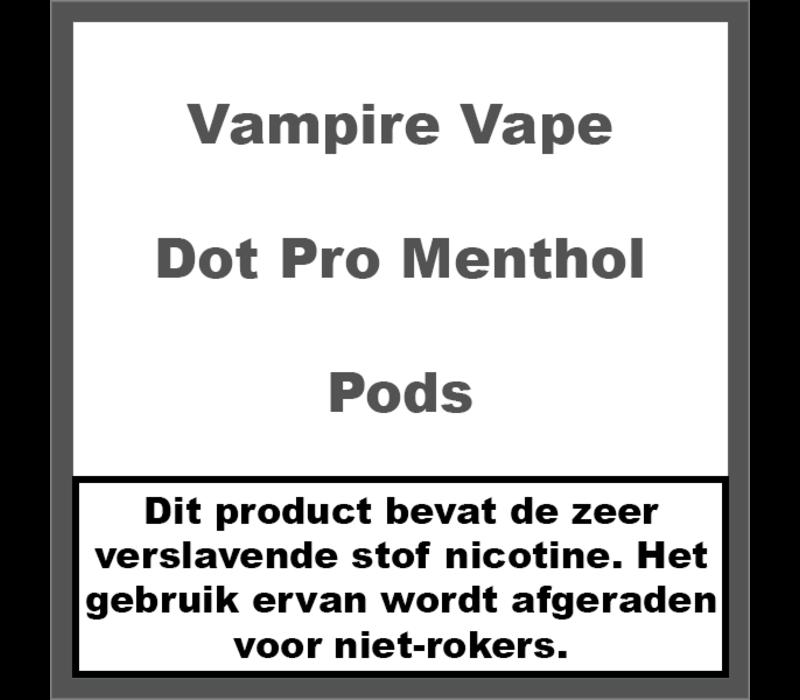 Dot Pro Menthol Pods