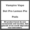 Vampire Vape Dot Pro Lemon Pie Pods