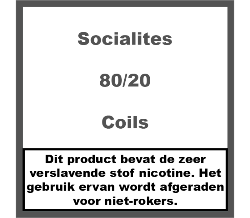 80/20 Coils