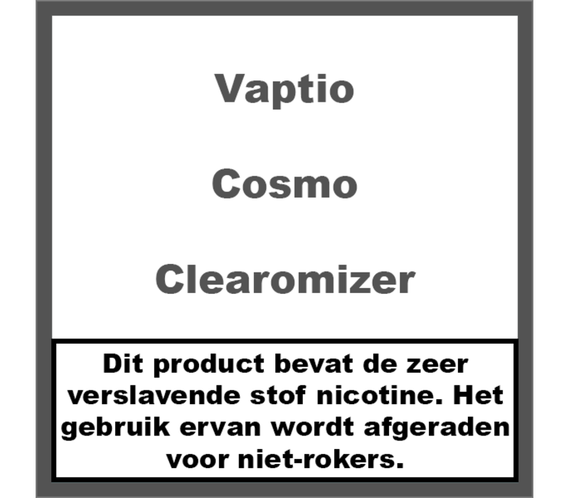 Cosmo Clearomizer