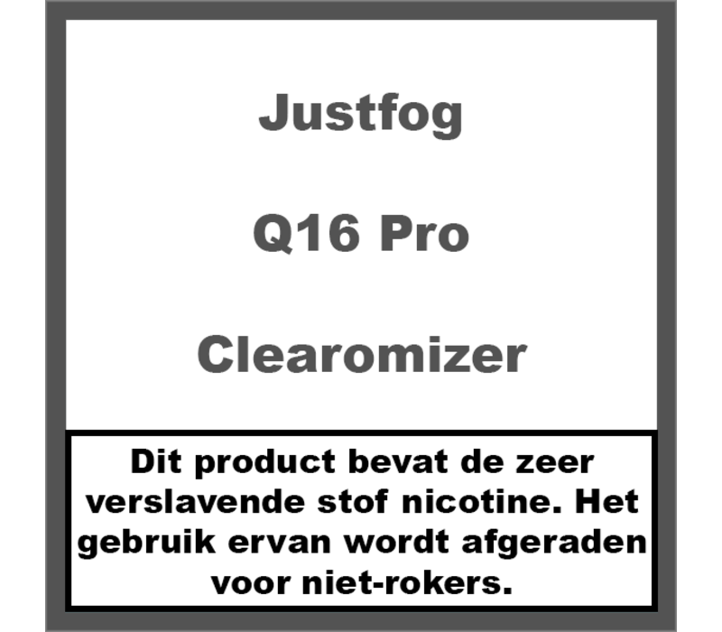 Q16 Pro Clearomizer