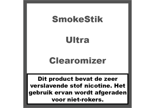 SmokeStik Ultra Clearomizer