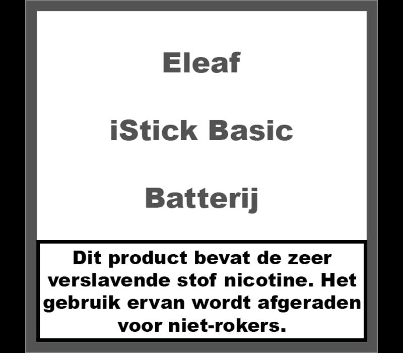 iStick Basic Batterij