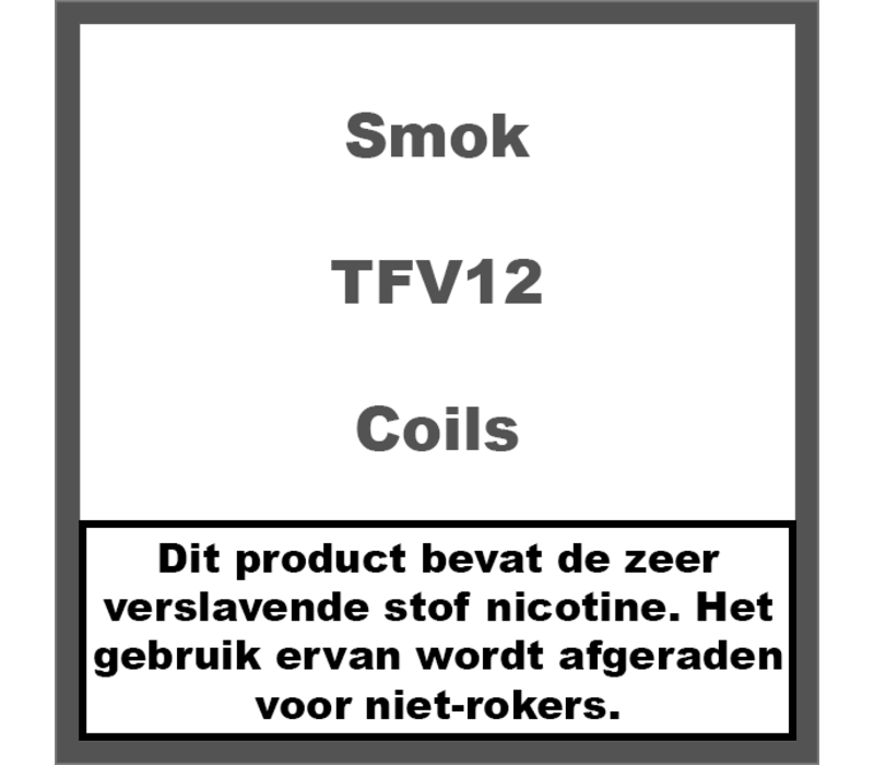 TFV12 Coils