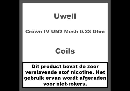 Uwell Crown IV Coils - UN2 Mesh Coils - 0.23 Ohm