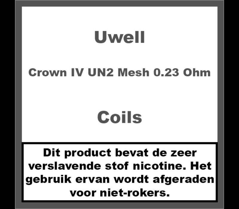 Crown IV Coils - UN2 Mesh Coils - 0.23 Ohm